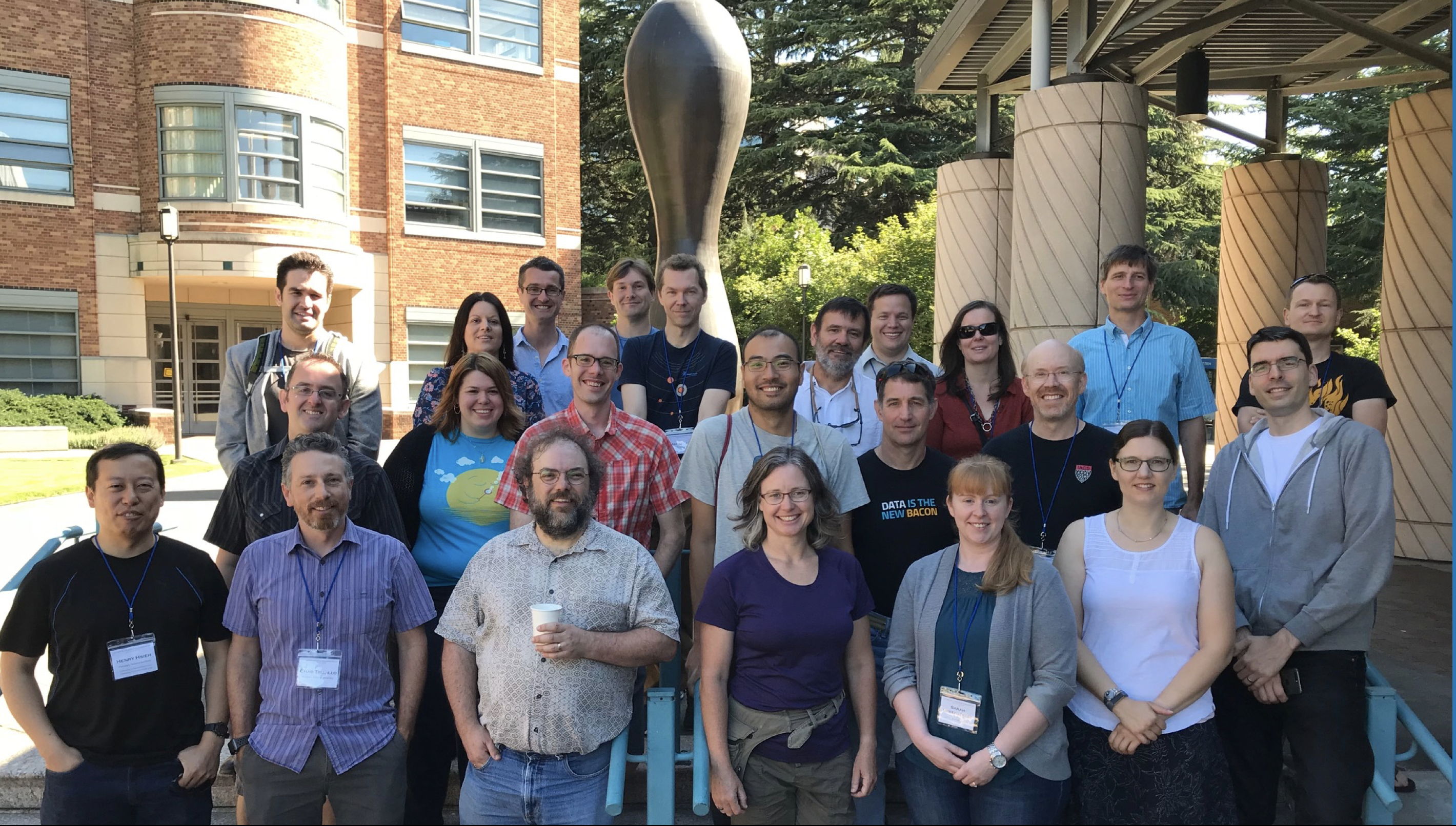 LSST Solar System Science Collaboration Sprint 1 Photo